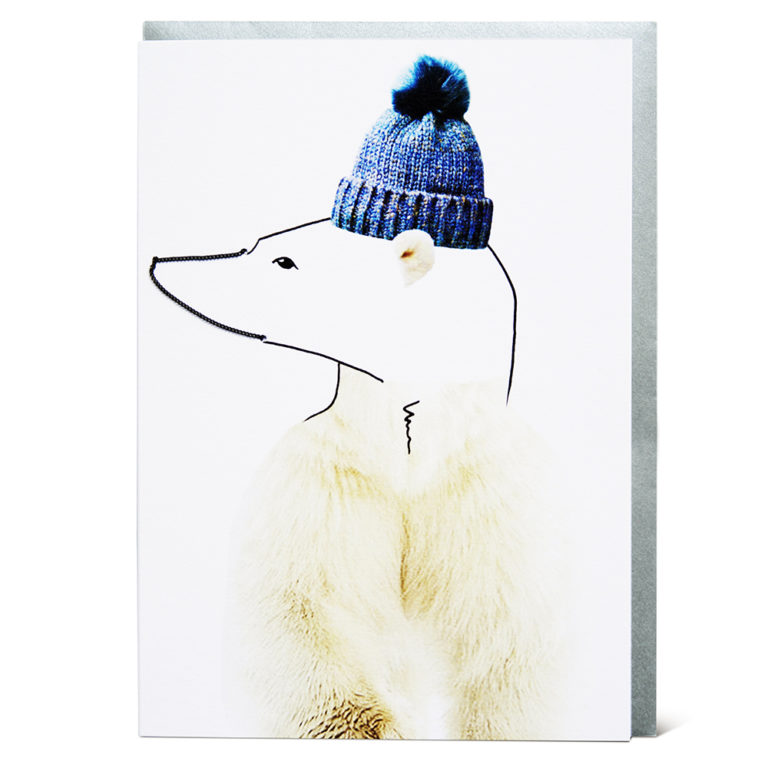 Shake it Baby greeting card Polar Bear