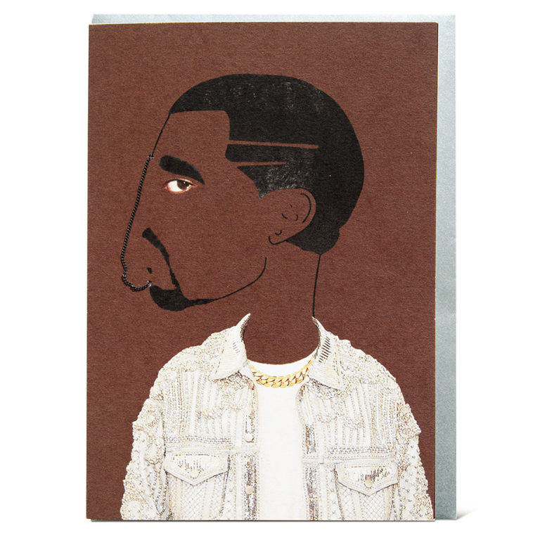 Shake it Baby greeting card Kanye