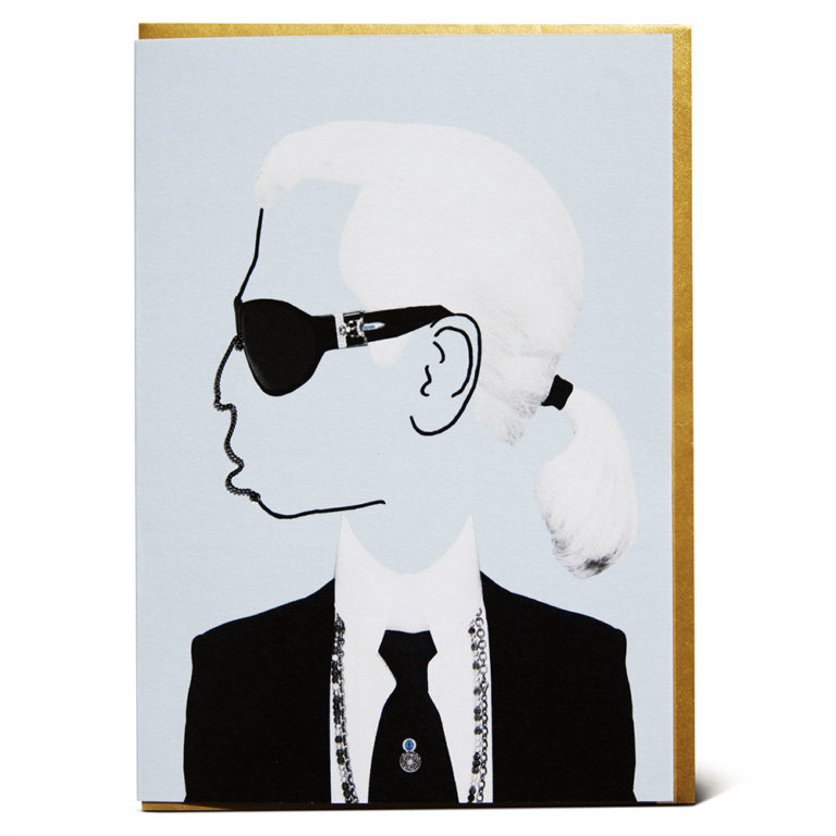 Shake it Baby greeting card Karl