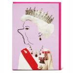Shake it Baby greeting card Queen