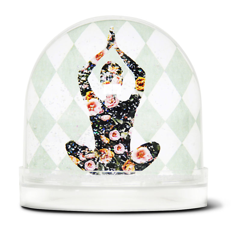 Shake it Baby snowball Yoga Woman